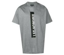 T-Shirt mit eingerissenem Logo
