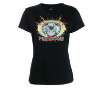 """T-Shirt mit """"Pinkoland""""-Schriftzug"""