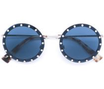 Runde Brille mit Nieten