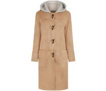 Duffle-Coat mit Shearlin-Besatz