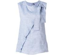 bow-tied sleeveless top