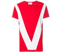 colour-block T-shirt