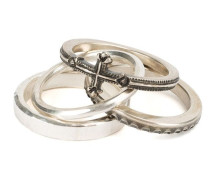 Set aus vier 'Combination Cross' Ringen
