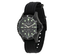 'Navi Harbor Black Timex' 38mm Armbanduhr