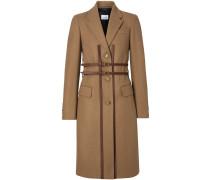 Eleganter Mantel mit Harness