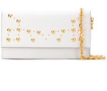 stud detail clutch bag