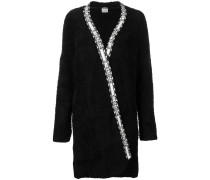 wrap fleece coat