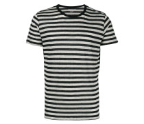 Gestreiftes Kaschmir-T-Shirt