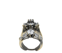 'White Eclipse' Ring