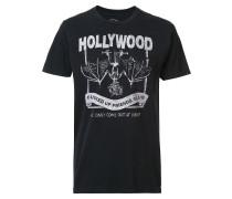 'Hollywood FUFC' T-Shirt mit Brusttasche