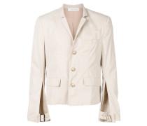 adjustable slit sleeve jacket
