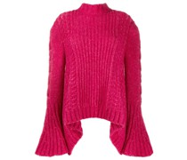 Pullover mit Glockenärmeln