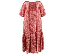 Lamé-Kleid mit Knitteroptik