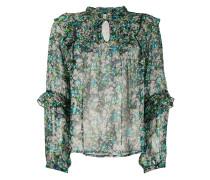 'Charlize' Bluse mit Print