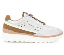Perforierte Flatform-Sneakers