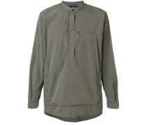 zip pocket tunic top