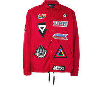 Windbreaker mit Patches