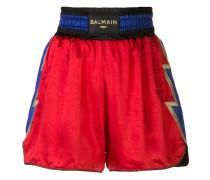 x Balmain Shorts im Boxer-Look
