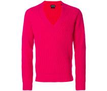 deep v-neck sweater