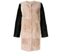 colour-block coat