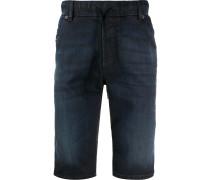 Ausgeblichene Jeans-Shorts