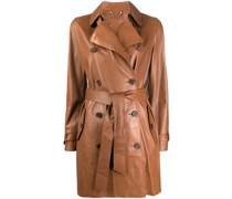 Trenchcoat mit Knopfdetail