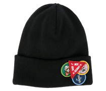 patch appliqué beanie