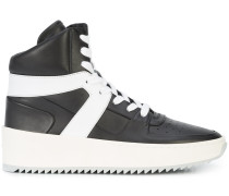High-Top-Sneakers mit Plateausohle