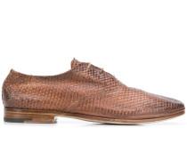 Strukturierte Oxford-Schuhe