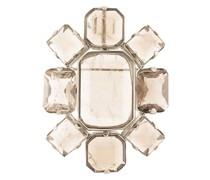 Brosche mit Kristallen
