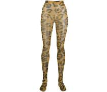 Leggings mit Leoparden-Print