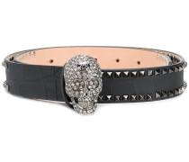 embellished Skull belt