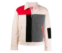 Jacke im Patchwork-Design