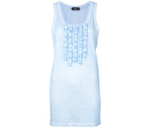vest with frill designs