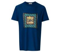T-Shirt mit Elefanten-Patch