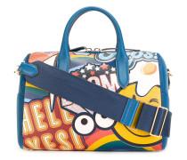 Handtasche mit Stickerdesign