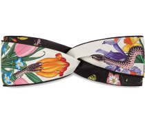 'Flora Snake' Haarband mit Print