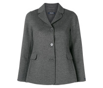 buttoned up fitted jacket