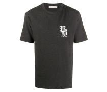 """T-Shirt mit """"Brain Burgers""""-Print"""