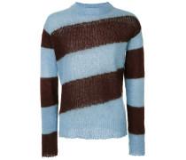 Pullover mit Diagonalstreifen