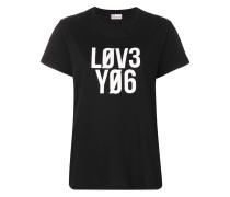 T-Shirt mit ''Love You''-Print