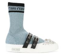 Verzierte Sock-Sneakers
