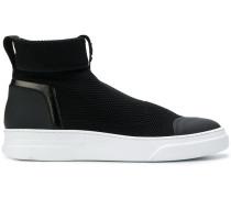 High-Top-Sneakers mit dicker Sohle