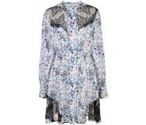 'Daphne' Kleid mit Spitzenbesatz