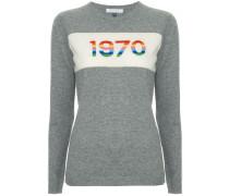 "Pullover mit ""1970""-Print"