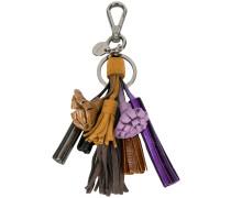 Schlüsselanhänger mit Quasten