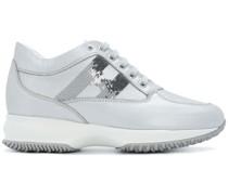 mid-top platform logo sneakers