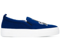 'Eiffel Tower' Slip-On-Sneakers