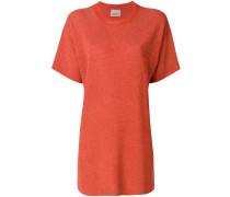 T-Shirt-Kleid mit rundem Ausschnitt