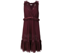 frill and lace trim dress